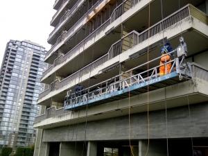 railing spraying